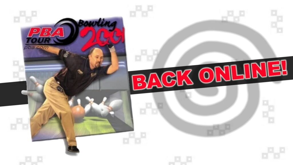 PBA Tour Bowling 2001 Is Back Online!