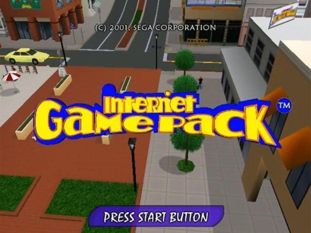 Unreleased Online Dreamcast Game, Internet Game Pack Leaked!