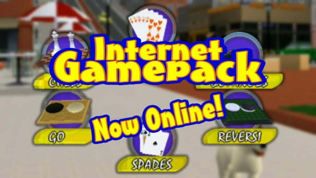 Internet Game Pack Is Now Online!