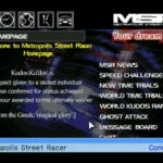 Metropolis Street Racer Website & Rankings Restored!