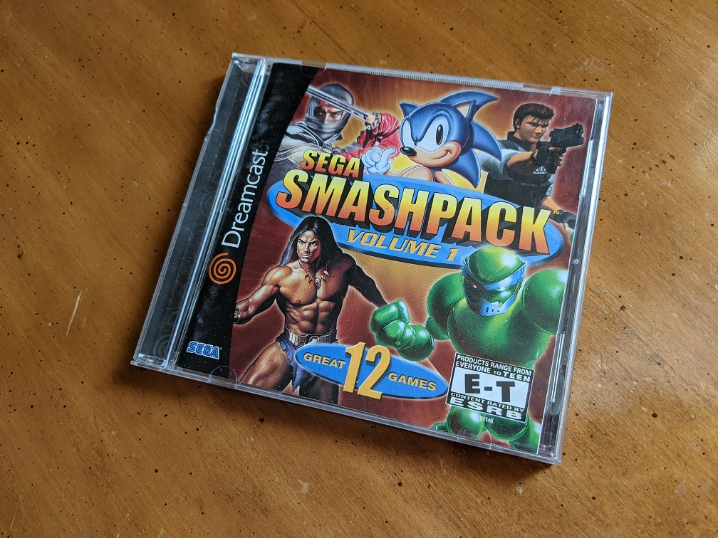 December '20 Giveaway: Sega Smash Pack (Update: Winner Chosen!)